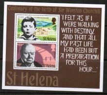 ST. HELENA    Scott #  285-6a**  VF MINT NH Souvenir Sheet - Saint Helena Island