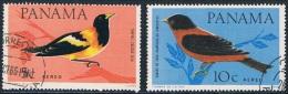 Panama - Oiseaux PA 368/369 Oblit. - Songbirds & Tree Dwellers
