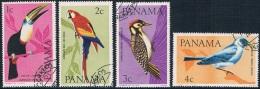 Panama - Oiseaux 417/420 Oblit. - Collections, Lots & Series