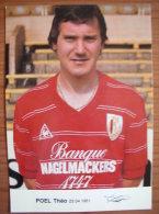 Theo Poel - Standard Luik - Football CP - 84-85 (Beringen - Beerschot) - Fútbol
