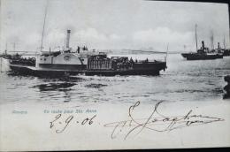 Anvers  En Route Pour Ste. Anne Antwerpen Overzetboot Sint Anneke  1906 - Antwerpen