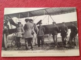 Cpa 54 ARRACOURT Aeroplane Allemand Atterrit (Arrondissement Luneville)  UNIQUE - Other Municipalities