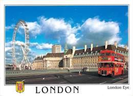 """Angleterre-LONDON EYE """"L´œil De Londres"""" Grande Roue (bus à Impériale Autocar Autobus Buses ) *PRIX FIXE - Autres"""