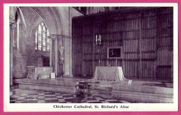 PC7452 St. Richard's Altar, Chichester Cathedral, Sussex. - Chichester