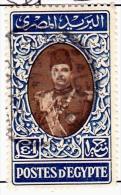 Egypt Scott   240 Used  Very Fine  1 Pound Farouk - Egypt