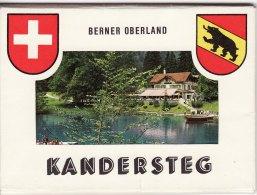10 1950s Photo Cards Kandersteg Switzerland Mountain - Géographie