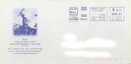 EMA  BAL FRAD MT 665371 Sur Enveloppe Illustrée De La Mairie De 58240 St Pierre Le Moûtier - Marcofilia (sobres)