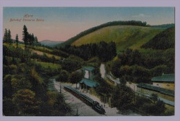 Cpa HARZ : Bahnhof Steinerne Renne 1944 - Allemagne