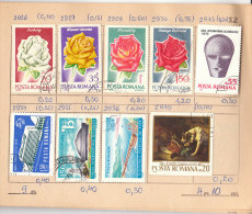 Stamps Exchange Books: Poland, France, USA, USSR, Romania (b 11) - Timbres