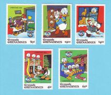 GRENADA GRENADINES DISNEY DONALD 1984  / MNH** / BJ 745 - Disney