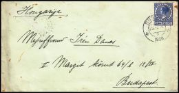 Netherlands 1911, Cover Bussum To Budapest - Brieven En Documenten