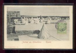 TUNIS : Juives Au Cimetière - Judaisme