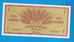 FINLANDIA - FINLAND = 1 Markka 1963  P-98 SC - Finlandia