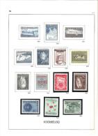 Autriche - Album Davo -  Timbres De 1850 à 1992 Oblitérés - Neuf * & Neuf ** - Collections