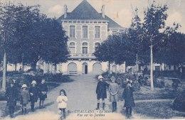 ¤¤  -  5  -  CHALLANS   -   La Mairie  -  Vue Sur Les Jardins  -  Enfants   -   ¤¤ - Challans