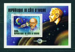 IVORY COAST - 1978 Nobel Prize Miniature Sheet As Scan - Ivory Coast (1960-...)