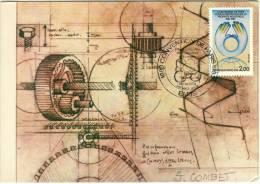 Carte MAXIMUM 1er JOUR - N° 2272 - PROPRIETE INDUSTRIELLE - Cartes-Maximum