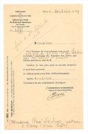 COMPAGNIE DES CHEMINS DE FER DU MIDI -SERVICE DES TITRES -1939 - Andere