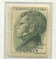 1949 Cecoslovacchia, Nascita Puskin , Serie Completa Nuova (**) - Czechoslovakia