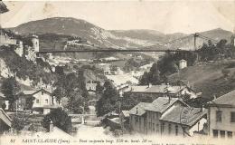 Jura- Saint-Claude -Pont Suspendu Long. 150m. Haut. 50m. - France