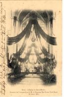 Aalst. Alost. L´Eglise De Saint-Martin. Souvenir De L´inauguration De M. Le Chamoine Van Doren, Curé-Doyen - Aalst