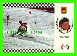 SPORTS D'HIVER - SKI SLALOM - GEORG SCHILLER, REP. FED. ALLEMAGNE - No 6  SERIE ESQUI - - Sports D'hiver