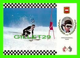 SPORTS D'HIVER - SKI SLALOM - NIKOLAUS GANAHL, AUSTRIA - No 11  SERIE ESQUI - - Sports D'hiver