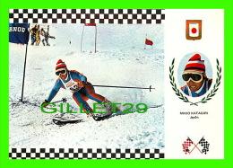 SPORTS D'HIVER - SKI SLALOM - MIKIO KATAGIRI, JAPON - No 12 SERIE ESQUI - - Sports D'hiver