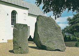 Runic Stones   Runestenene  Jelling   Denmark   # 0355 - Dolmen & Menhirs