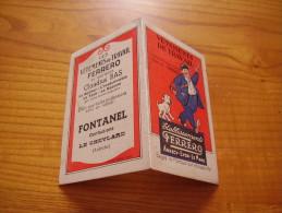 Calendrier 1940 De Fontanel Confections à Le Cheylayd En Ardèche : Vêtements De Travail Ferrero - Historische Documenten