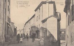 43 LAVOUTE CHILHAC  La Hte Loire Illustrée  Coin Du VILLAGE Rue Du PONT Animée Enfants En 1910 - Non Classés