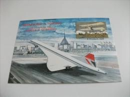 Aereo Concord Aviazione A Torino 1982 Aeroporto - 1946-....: Modern Era