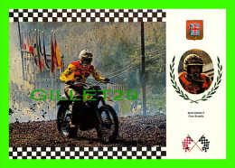 SPORTS, MOTOCROSS - BOB WRIGHT, GRANDE BRETAGNE - No 22 SERIE MOTOCROSS - MONTESA 100Kg 32,5 C.V. - - Sport Moto