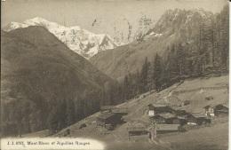 MONT BLANC ET L AIGUILLES ROUGES . CHALETS - Chamonix-Mont-Blanc