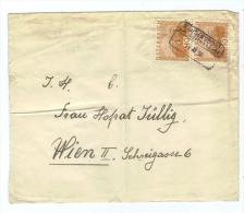 Österreich, 1930, Briefkuvert Mit Senkr. Paar 10Gr./Landschaften/ Großes Format, Kastenstempel Mannersdorf (14263E) - Poststempel - Freistempel