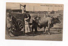 Cpa INDE - ADEN - Bullock Water Cart - - Inde