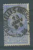 """VEND BEAU TIMBRE DE BELGIQUE N° 60V : SANS BOUCLE AU """"5"""" SUPERIEUR !!!! (a) - Errors (Catalogue COB)"""