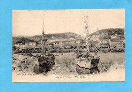 MARSEILLE-L ESTAQUE-vue Depuis Le Port -beau Plan-carte D´époque -1900 édition Lacour - Quartiers Nord, Le Merlan, Saint Antoine