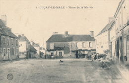 LUCAY LE MALE - Place De La Mairie - Francia