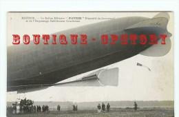"""DIRIGEABLE """" Patrie """" Vue Du Gouvernail - Carte Photo Ballon Aérostation Militaire - ND N° 3 - Dos Scanné - Dirigibili"""