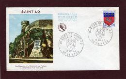 1510 - SAINT - LO - 1er Jour Le 17-12-1966 - FDC