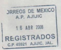 Lettre Postee A  La Base Jubany (Antarctique Argentin) Adressee Au Mexique. Photos Recto-verso - Argentine