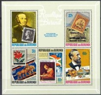 Burundi 1979 OBC N° 843-47 + Bloc 108 *** MNH Cote 28 Euro Rowland Hill - Burundi