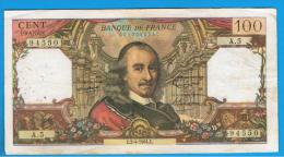 FRANCIA - FRANCE = 100 Francs 1964  P-149 - 1962-1997 ''Francs''