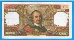 FRANCIA - FRANCE = 100 Francs 1968  P-149 - 1962-1997 ''Francs''