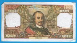 FRANCIA - FRANCE = 100 Francs 1973  P-149  Serie N - 1962-1997 ''Francs''