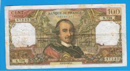 FRANCIA - FRANCE = 100 Francs 1973  P-149  Serie S - 1962-1997 ''Francs''