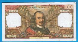 FRANCIA - FRANCE = 100 Francs 1973  P-149  Serie V - 1962-1997 ''Francs''