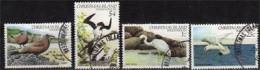 Serie Complete Oiseaux De L´Ile Christmas. 4 T-p Obliteres Ile Christmas. Yv.# 156/9   . Cote 12.50 € - Christmas Island