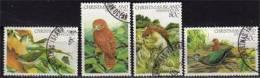 Serie Complete Oiseaux De L´Ile Christmas. 4 T-p Obliteres Ile Christmas. Yv.# 171/4. - Christmas Island